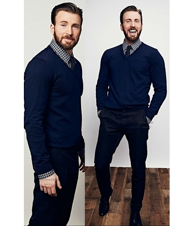 Chris Evans Total Look